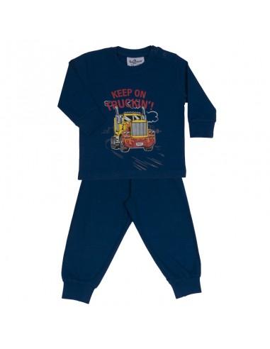 Fun2wear Pyjama Truckin Navy