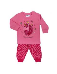 Fun2wear Pyjama Sweet Dreams Unicorn Fuchsia Roze