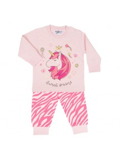 Fun2wear Pyjama Sweet Dreams Unicorn Aurora Roze