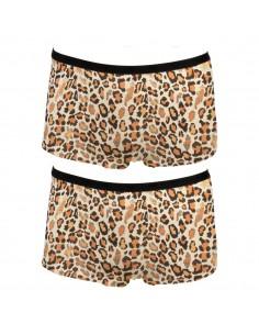 Funderwear Tiener Meisjes Short Animal Wheat 2Pack