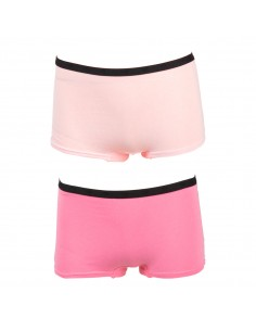 Funderwear Tiener Meisjes Short Barely Pink Sachet 2Pack