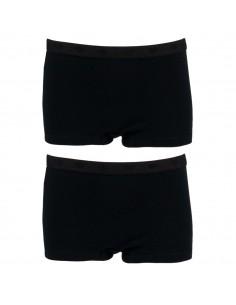 Funderwear Meisjes Short Black Black 2Pack