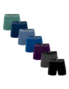 MuchachoMalo Moonlight 7PACK SUPER ACTIE SOLID02 Heren Boxershorts