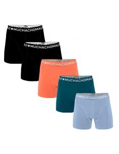 MuchachoMalo Hello Sunshine 5PACK SUPER ACTIE SOLID02 Heren Boxershorts