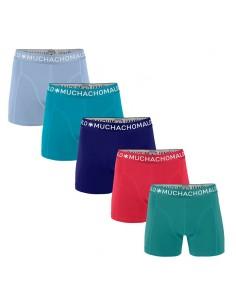 MuchachoMalo Hello Sunshine 5PACK SUPER ACTIE SOLID01 Heren Boxershorts