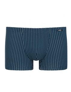 MEY Heren Shorty boxer Dots yacht blue 33521