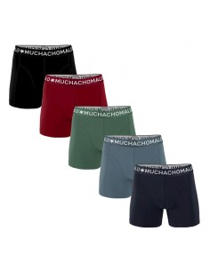 MuchachoMalo Hello Moonlight 5PACK SUPER ACTIE SOLID19 Heren Boxershorts