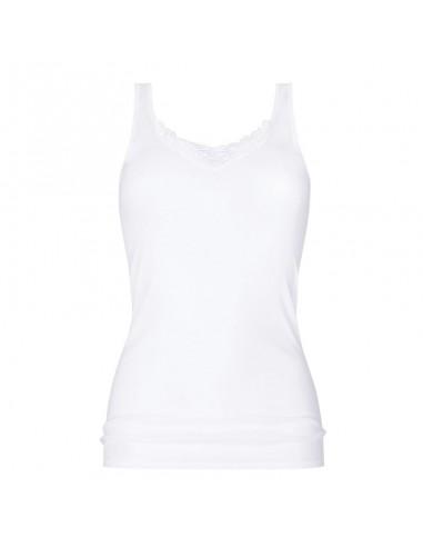MEY Dames Hemd Wit Classic 2000 Shirt 25078