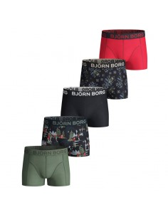 Bjorn Borg 5Pack Boys BB Winter Wonderland Night Sky