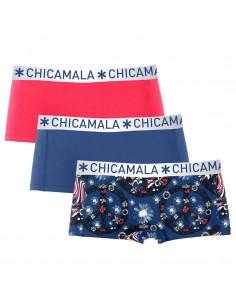 MuchachoMalo 3Pack Flower Powe Shorts Dames Ondergoed