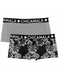 MuchachoMalo 2Pack Casino Royale Shorts Dames Ondergoed