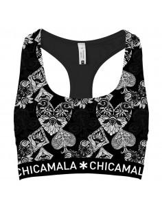 ChicaMala CASINO ROYALE Racerback Top Meisjes Ondergoed