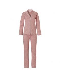 Ten Cate Dames Pyjama Pink Flower Tan