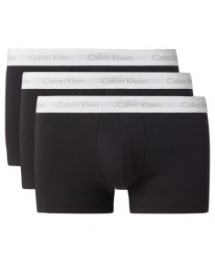 Calvin Klein Ondergoed BIG Low Rise Trunk Cotton Stretch Zwart