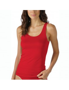 MEY Dames Emotion Top Sporty Hemd Rubin Red 55204
