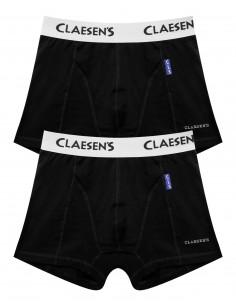 Claesen's Jongens 2Pack Boxershorts Black