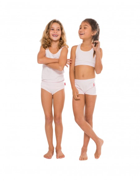 Claesen's Meisjes 3Pack Slips Pink
