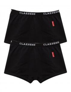 Claesen's Meisjes 2Pack Boxer Black