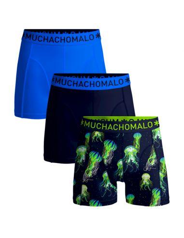 MuchachoMalo 3Pack Jellyfish Jongens Boxershorts