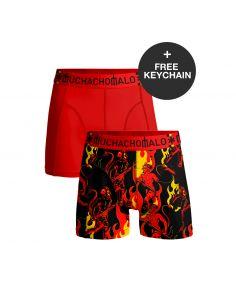 MuchachoMalo WorldCup Belgie Duopack Heren Boxershorts incl keychain