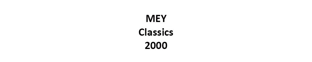 MEY Series Classics 2000